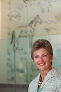 Jo Ann Rooney, former President of Mount Ida College.